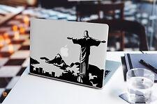 Rio De Janeiro Skyline Decal for Macbook Pro sticker vinyl air 13 15 11 laptop