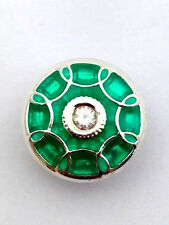 Authentic Kameleon Imperial Jade Sterling Silver Jewelpop Jewel Pop Kjp936 New