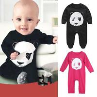 Newborn Infant Baby Boy Girl Cotton Romper Jumpsuit Bodysuit Clothes Outfits Set
