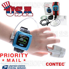 US SELLER Wrist Pulse Oximeter, Spo2 Monitor Daily And Overnight Sleep Wearable