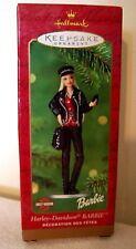 Harley Davidson Barbie Ornament sold by Hallmark 2000 NIB (Buy 2 for $8.95)
