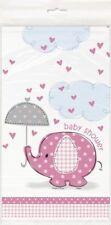Baby Shower Elefant Tischdecke Pink 137x213 Cm