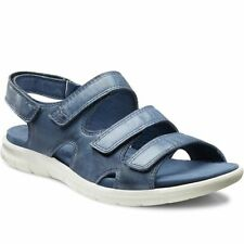 ECCO Women's 100% Leather No Pattern Sandals & Beach Shoes