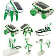 6-IN-1 EDUCATIONAL SOLAR ROBOT KIT - CLEARANCE!