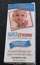 Premium Triple Cream fragrance free -dry skin 2oz