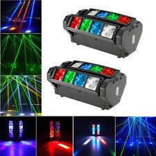 2X 120W RGBW LED Spider Beam Moving Head Stage Lighting Disco Party Light DJ M9O