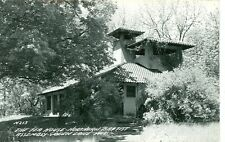 GREEN LAKE,WISCONSIN-NORTHERN BAPTIST ASSEMBLY-TEA HOUSE-RPPC-(RP#1-1942)