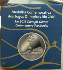 Willie: Brazil Rio Olympic silver proof commerative medal