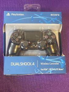 SONY PLAYSTATION 4 PS4 BLACK DUALSHOCK 4 CUH-ZCT2U  New