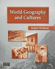 WORLD GEOGRAPHY AND CULTURES STUDENT WORKBOOK by AGS Secondary