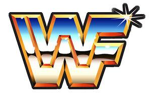 WWF Retro Logo Sticker Vinyl Decal