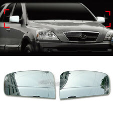 Chrome Side View Mirror Cover Garnish Molding Trim A377 For KIA 2003-06 Sorento
