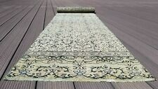 Beautiful Antique 1940's Natural Dye Wool Pile Runner Rug 2'x 9'7""