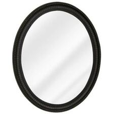 Zenith Products BMV2532 Oil Rubbed Bronze Oval Frame Mirror With Medicine Cabine