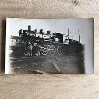 Antique New York O & W Railroad Postcard Engine 225 Train Locomotive Photograph