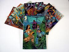 Lot 7 IMAGE COMICS en anglais Weapon Zero dont Vol 1 - T1 1995 à 1997