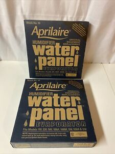 2 OEM #10 Aprilaire Humidifier Water Panel Evaporator 110-558 Filter Replacement