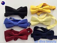 AU Boys Kid Child Party School Pre-tied Wedding Formal bow tie Necktie bowtie