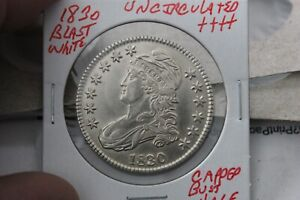 1830   UNC+++  CAPPED BUST HALF DOLLAR