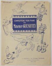 Trotte petit ânon! Partition pour piano, Maxence Guéniffey, Ed Combre, 1957