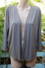 Katies Size 3XL-22 Mocha Brown Gathered Back CARDI/Shrug NEW GR8 Stylish Top