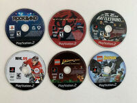 Playstation 2 Game Lot- Disc Only- Tested And Work Great! Spider-Man, Star Wars