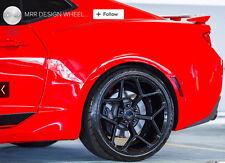 "20"" 20x9/20x10 5x120 MRR M228 Wheels For Chevy Camaro SS RS Z28 Gloss Black"