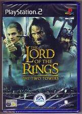 PS2 The Lord of the Rings: The Two Towers, Brand New & Sony Factory Sealed
