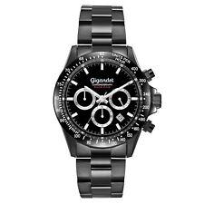 Uhr Armbanduhr Herrenuhr Chronograph Gigandet G33-003 Schwarz Datum Metallband