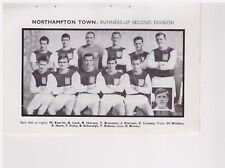 Team Pic from 1965-66 FOOTBALL Annual - NORTHAMPTON TOWN + Baxter RANGERS