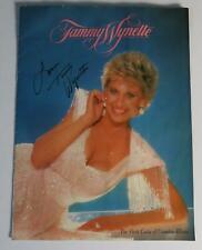 TAMMY WYNETTE Signed Autograph 1991 Concert Tour Program Book