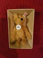 Miniature STEIFF Club 2002   BEAR MINT IN BOX W/COA 🐻 CUTE 3.5""