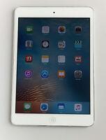 Working Apple iPad Mini 1st Generation Tablet 16GB WiFi Silver A1432 MD531LL/A