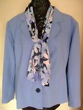 ladies blue jacket size 18 classics