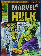 INCREDIBLE HULK #181~MARVEL COMICS UK~SIGNED TRIMPE~WEIN~THOMAS~1ST WOLVERINE