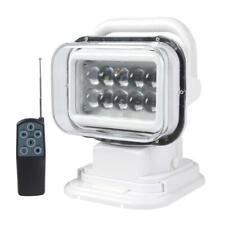 50W LED 360 Degree Remote Control Searchlight Truck Boat Car Marine Wireless Spo