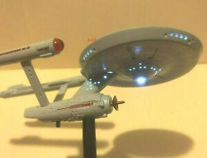 USS Enterprise 1701 Star Trek Classic Light Up ship TOS Kirk Spock starship toy