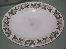 Wedgwood Strawberry Hill Ovale Servire Piatto 13.75""