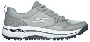 Skechers GO GOLF Arch Fit Line Up Golf Shoes 214018GRY Gray/White Men's New