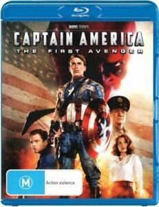 Captain America - The First Avenger Blu-ray (Pal, 2013) AS NEW - FREE POST