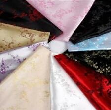 """1 meter by the yard brocade plum blossom tapestry satin Fabric 35.4"""" in 10colors"""