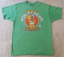 "1986 BOSTON CELTICS ""World Champs Sweet Sixteen"" - Green T-Shirt SIZE L"