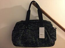 NWT Lululemon All Day Duffel Gym Bag TRBG Tweed Runner Shocking Blue READ SHIP