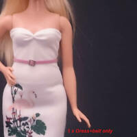 "Handmade~Doll Dress for 12"" Doll~ Curvy barbie"