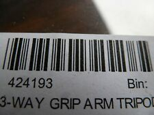 GoPro 3-Way Tripod Grip Arm 3-in-1 Camera Mount 424193 OEM New