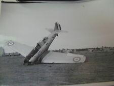 ARMEE DE L'AIR 1939-1940 MAROC North American Aviation NAA-57 accidenté / CRASH
