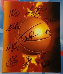 WNBA 8x10 Autogragh, Maya Moore, Anna Cruz, Asha Jones, Tracia Liston...
