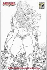 WITCHBLADE # 137 b 137b Jay Company sketch Variant Limited to 100 Copies