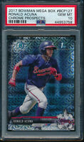 PSA 10 RONALD ACUNA JR. 2017 Bowman Chrome Mega Box Refractor Rookie RC GEM MINT