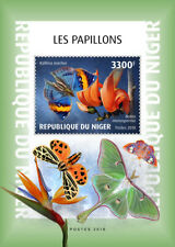 Niger 2018   Butterflies and flowers  S201901